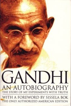The Story of My Experiments with Truth by Mahatma Gandhi (1927).  Gandhi recounts early struggles and his passionate quest for self-knowledge
