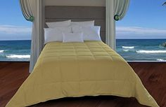 Natural Comfort New in Color Down Alternative Comforter, Queen, Beach Grass ** Additional details @ http://www.amazon.com/gp/product/B00CLX5AY0/?tag=ilikeboutique09-20&st=280716031912