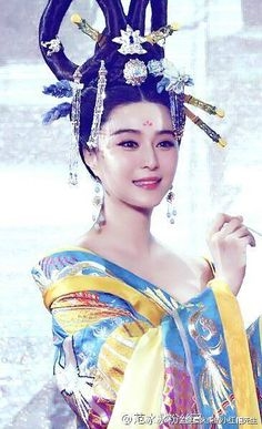 Fan Bing Bing starring in The Empress of China (Wu Zhetian) TV series set in the Tang Dynasty Traditional Fashion, Traditional Dresses, Asian Style, Chinese Style, Wu Zetian, The Empress Of China, Ancient Beauty, Chinese Clothing, We Are The World