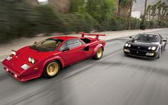 Ferrari Testarossa or Lamborghini Countach? - Countach for me (please)