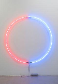 John Isaacs, Blood and Tears, 2013 (Neon glass fittings, transformer)