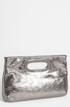 MICHAEL Michael Kors 'Berkley' Clutch Just bought this in yellow for my Cousins Wedding!  It's gorgeous!!