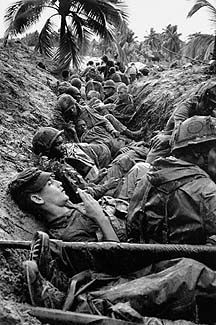 HENRI HUET An Thi, Vietnam, 1966  In January 1966, Associated Press correspondent Bob Poos and photographer Henri Huet accompanied the U.S. First Cavalry Division into action on the central coast of South Vietnam.