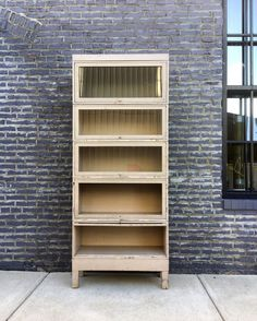 Industrial Barrister Bookcase