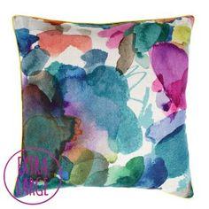 Big Archie Floor Cushion bean bag by Fi Douglas of bluebellgray - a Scottish textile design company.