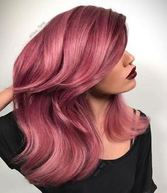 Dare to Dye Insanely Gorgeous Bold Hair Colors pastel rose hair