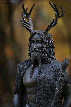 Cernunnos/maria rosa raffaele - The Celtic god of fertility and protector of all animals.
