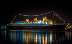 Not only can you dine on this historic ship, permanently located in Long Beach, you can dine with the spirits, literally. This special dinner includes a spooky tour like no other. After dinner, you will be guided by a trained paranormal guide to explore the Queen Mary's most notorious paranormal hotspots and hear harrowing