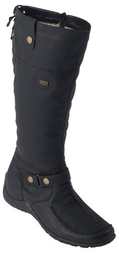 Low Price Boots RIEKER Z0471 14 Women's shoes Navy Blue