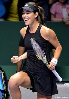 Ana Ivanovic #WTAFinals #tennis