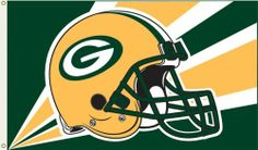 NFL Green Bay Packers 3-by-5-foot Flag by Flagpole To Go. $19.50. Reinforced sewn header with grommets. Display inside or outdoors. Bright color team logo. NFL Green Bay Packers 3-by-5-foot Flag