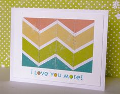 I Love You More Card by @Alicia Brady Thelin