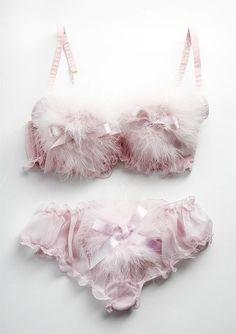 .fluffy   fun   pretty undergarments.