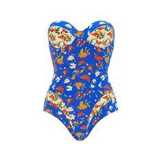 Paolita Mughal One Piece Swimsuit ($240) ❤ liked on Polyvore featuring swimwear, one-piece swimsuits, paolita, swimsuit, swim suits, one piece bathing suits, 1 piece bathing suits, colorful bathing suits and swimsuit swimwear