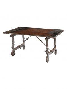 17th Century Spanish Walnut Centre Table | Rose Uniacke