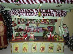 Miniatur Traditioneller Weihnachtsmarkt Stand Unikat von minis4you