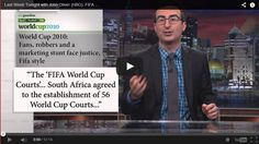 John Oliver's Talks About His 'Sausage' ...FIFA & The World Cup! - http://www.mustwatchnow.com/john-olivers-talks-sausage-fifa-world-cup/