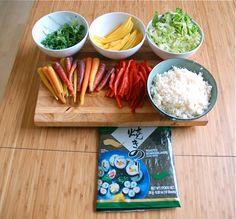 Plant-Based 'Sushi' with Cauliflower 'Rice'