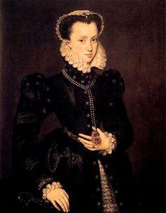 Elisabeth von Österreich future Queen of France-*5.6.1554+22.1.1592 Vater:  Kaiser Maximilian II. (1527-1576) Mutter:  Maria (cousin of Maxmilian II.)(1528-1603), eine Tochter von Kaiser Karl V. († 1558)und ihre cousin Isabela Von Portugal *1503+1539 Gatte:  König Karl IX. von Frankreich († 1574), Heirat am 26.11.1570 Kind:  Elisabeth Marie (oder Marie Elisabeth)*27.10.1572+2.4.1578