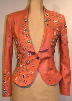 Rodeo Queen Jacket by Jan Faulkner Leather.