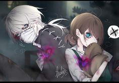 #IdentityV #Embalmer #Gardener Couple Art, Best Couple, V Cute, Anime Expressions, Cute Stories, Identity Art, Hanging Out, Kawaii Anime, Cute Couples