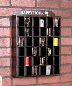 Shot Glass Display Shelves #LakesideCollection