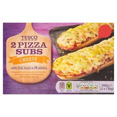 Tesco 2 Cheese Pizza Subs 260G - Groceries - Tesco Groceries