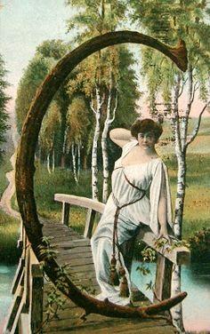 postcardiva postcard blog: Antique ALPHABET Postcards