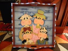 Bandeja Arte Country, Pintura Country, Cow Pattern, Country Paintings, Tole Painting, Painting Patterns, Tray, Clip Art, Internet
