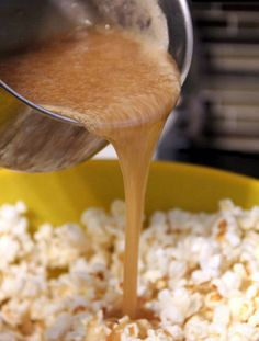 Salted Caramel Popcorn  it is AMAZING. Super easy, too.