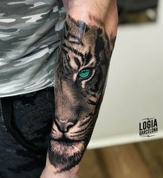ᐅ Best Tattoos ideas for your tattoo - # 2019 . - ᐅ Best Tattoos ideas for your tattoo – # 2019 - Tiger Eyes Tattoo, Tiger Tattoo Sleeve, Lion Tattoo Sleeves, Best Sleeve Tattoos, Tattoos Arm Mann, Arm Tattoos For Guys, Body Art Tattoos, Forearm Tattoo Men, Arm Band Tattoo