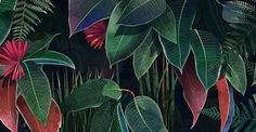 Part of third #illustration for @areaenvironments available in two versions:  day and night. #botanicillustration #botanic #foliage #leaves #flower #garden