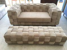sofa szachownica