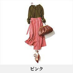 40代のファッション・ファッションコーディネート見本帖 | ファッション誌Marisol(マリソル) ONLINE 40代をもっとキレイに。女っぷり上々! Women's Fashion, Clothing, Closet, Accessories, Outfits, Shoes, Fashion Women, Armoire, Zapatos