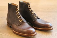 Saint Crispin's boot model 403S in shrunken calf