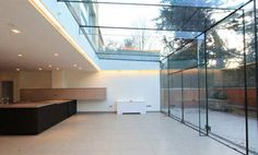 contemporary glass conservatory   CSA   Clive Sall Architecture