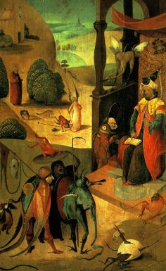 St.James and the Magician - Hieronymous Bosch