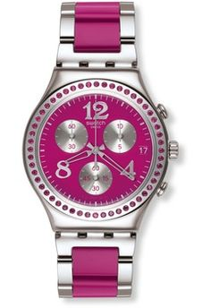 Montre Swatch Secret Thought Raspberry