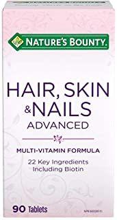 Nature's Bounty Hair, Skin & Nails Advanced with Biotin Supplement, Multivitamin Formula, 90 Tablets Pixie Cut Color, Cut And Color, Nail Growth Tips, Opi Nail Envy, Nail Biting, Dark Blonde, Biotin, Love Hair, Hair Hacks