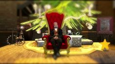 Großvater's Weihnachtsüberraschung erzählt von Rubeus Helgerud Grandpa 's Christmas surprise tells of Rubeus Helgerud Ausschnitt aus d...