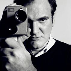 Quentin Tarantino... Geek adoration, film love