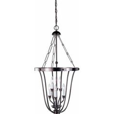 Found it at Wayfair - Minster 6 Light Candle Chandelier