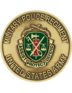 Military Police Regiment Challenge Coin