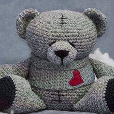 Мишка Тедди крючком