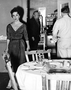 Elizabeth Taylor & Montgomery Clift coming in from the back to dine-- Google Search