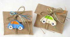 υφασματινες μπομπονιερες βαπτισης - Αναζήτηση Google Baptism Themes, Christening, Burlap, Favors, Reusable Tote Bags, Gift Wrapping, Party, How To Make, Gifts