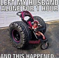 Left My Husband Alone For 1 Hour And This Happened funny memes lol humor funny pictures funny memes funny pics funny images really funny pictures funny pictures and images Truck Memes, Car Jokes, Car Humor, Memes Humor, Truck Quotes, Really Funny Memes, Stupid Funny, Funny Cute, The Funny