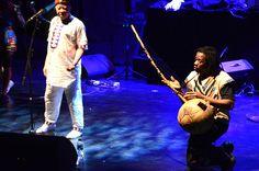 Concierto de Salif Keita en el Auditorio Nacional del Sodre. 17 de junio de 2013. Foto Amalia Pedreiras