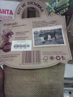 Kits de siembra con sacos biodegradables y con semillas variadas