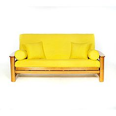 Yellow Full-size Futon Cover | Overstock™ Shopping - Top Rated Solid Futon Covers
